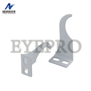 right angle bracket for radiator